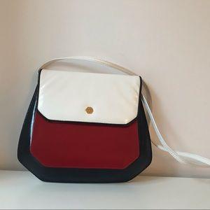 Vintage Due Fratelli Leather crossbody bag